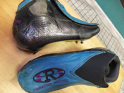 SIMMONS RACING, Vision, inline speed skating boots size  8N,women- boys 6