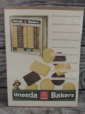 Uneeda Bakers Nabisco National Biscuit Company VTG 1930 Advertising Promo Print