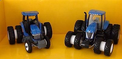 New Holland 8670 & T8040 Tractors Diecast Scale 1/64 New Ertl