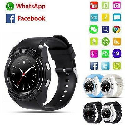 Vogue V8 Wireless Smart Watch Phone Touch Bluetooth Wrist Watch for Android iOS