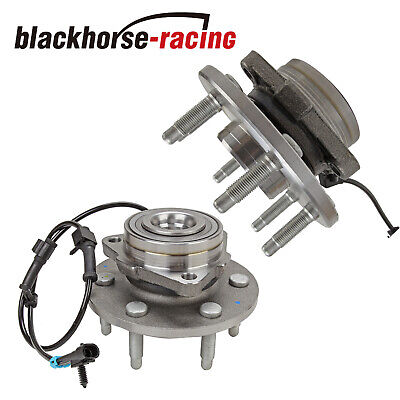 Wheel Hub Bearing Assembly (2) Chevy GMC Truck 2WD, Front w/ ABS 6 Lug 515054