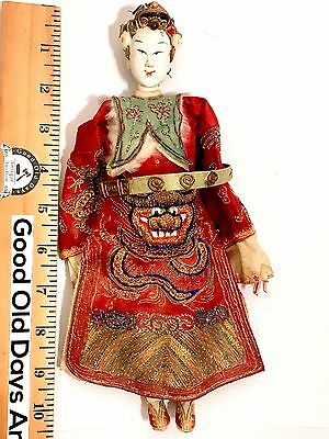 1800's Antique Asian Tibetan Chinese Highly Orientalist Doll