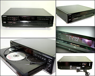 SONY CDP-CE315 Disc CD Changer Player