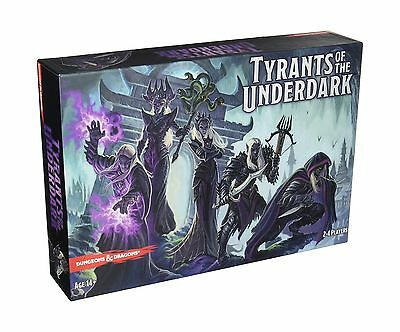 D&D: Tyrants of the Underdark Board Game New