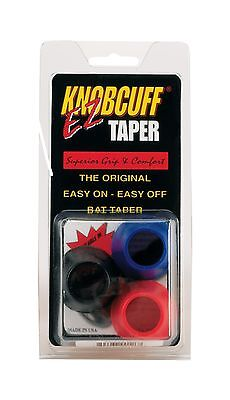 Knobcuff Markwort Knob Cuff Taper Grip-Pack of 3 (Black/Blue/Red Mix) New
