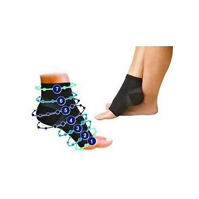 PowerLead Anti Fatigue Compression Foot Socks Provide Ankle Support and I... New