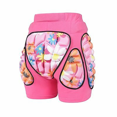 MCTi Kids Boys Girls Youth 3D Protection Hip EVA Paded Shorts Pants Prote... New