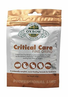 OXBOW 015OXP0135 Critical Care Fine Grind Pet Supplement 100gm New