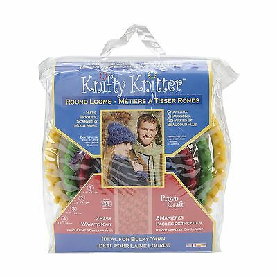 Knifty Knitter 210467 Round Loom Set of 4 New