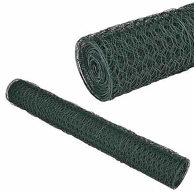 [pro.tec]® Chain Link Fence 1m x 25m Hexagonal Wire Netting Rabbits Wire Fencing