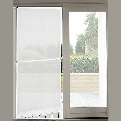 [casa.pro]® Fly Screen Door 100 x 210 cm White Insect Protection Mesh