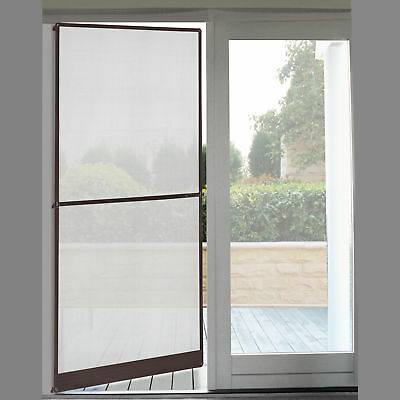 [casa.pro]® Fly Screen Door 00 x 210 cm Brown Insect Protection Mesh