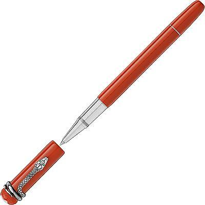 Montblanc Red Resin Heritage Rouge Et Noir Special Edition Coral 114726