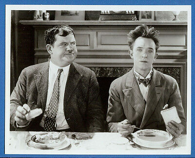Nice Laurel and Hardy Movie Still - 1990s Movie Archive 8X10 Print