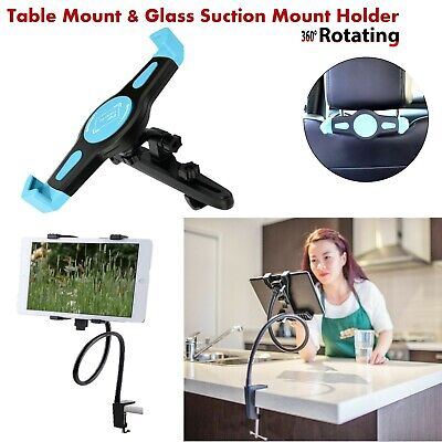 360 Rotating Table / Car Headrest Mount Holder For iPad 3 4 Air Tablets & Mobile