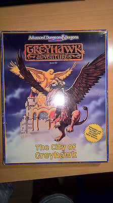 City of greyhawk Advanced Dungeons & Dragons box set RPG roleplaying - 2. edt.
