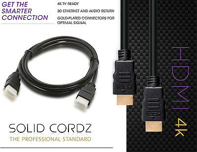 Lot 3//6//10//15//25//30FT Braided Ultra HD 1080P 4K HDMI Cable V1.4 Hi-Speed HDTV US