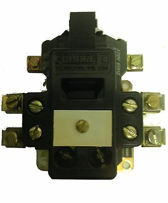 Square D Open Type AC Control Relay 120V Coil - DO-22