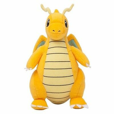 "9"" Pokemon Poupée Peluche Jouet Draget De Collection Charizard Rembourré Animal"