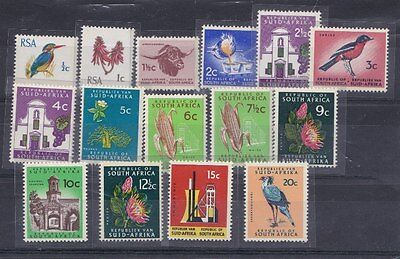Sud Africa South Africa 1969-72 Serie corrente 323A-323Q MNH