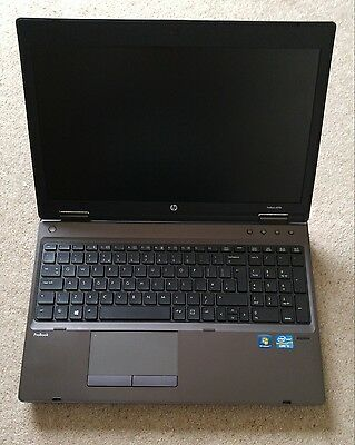 "HP Probook 6570b Core i5 2.5GHz 4GB 500GB HDD 15.6"" Laptop Webcam 515 lc"