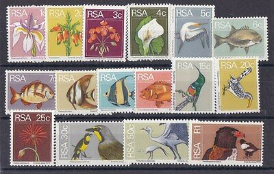 Sud Africa South Africa 1974 Serie corrente 359-74 MNH