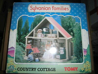 Maple town Country Cottage SYLVANIAN FAMILY FOREST FAMILIES Tomy GP