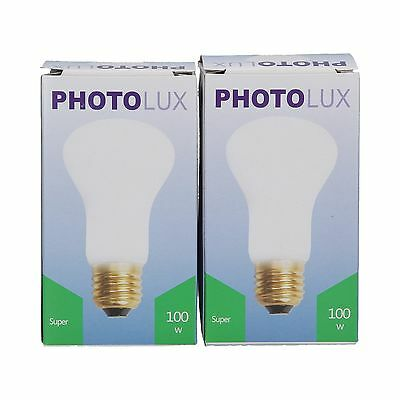 Photolux Super 100w 196v E27 EL100W Lamp for Elinchrom (PACK OF 2) (23002)