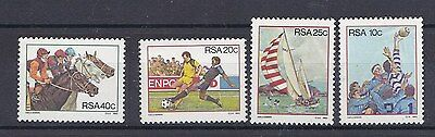 Sud Africa South Africa 1983 Sports 539-42 MNH