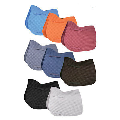 HyWither COMPETITION ALL PURPOSE PAD Saddle Cloth Cob/Full Various Colours