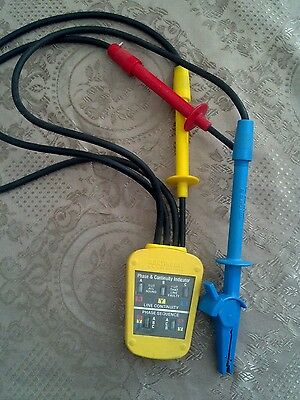 Martindale Phase And Continuity Indicator Tester Pc-15250