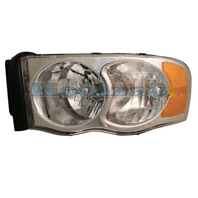 NEW LH HEAD LIGHT ASSEMBLY FOR 02-04 DODGE PICKUP RAM 1500 2500 3500 CH2502135