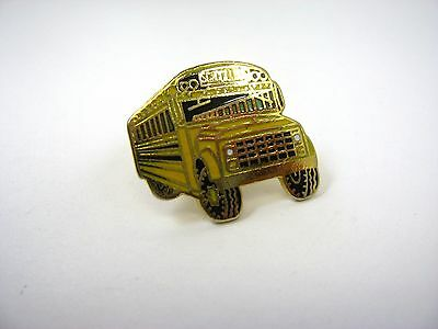 Vintage Collectible Pin: Yellow School Bus Excellent Design