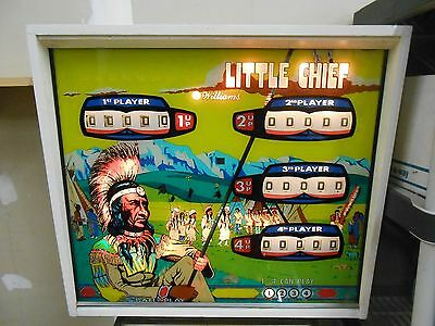 Vintage Williams 1975 Little Chief 4 Player Arcade Pinball Machine