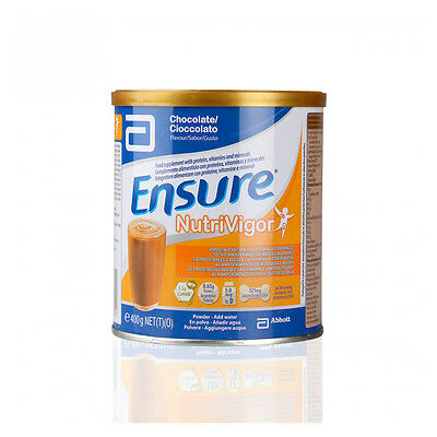 Ensure Nutrivigor Chocolate Lata 400 Gr