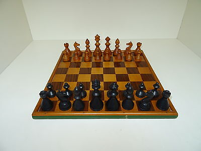 Vintage Chess Set And Board