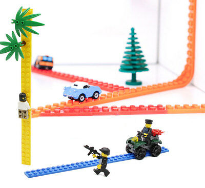25cm COMPATIBLE with LEGO FLEXIBLE TAPE / STRIP TRIAL SIZE, 12 colours