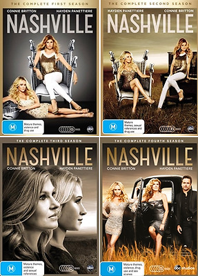 Nashville COMPLETE Season 1, 2, 3 & 4 : NEW DVD
