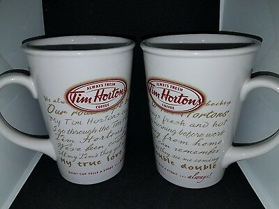 Tim Hortons Limited Edition Coffee Mug Cup Road Trip Every Cup Logo #009 2009