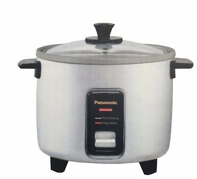 panasonic rice cooker srw10fge 5 cup traditional silver 49 54 rh picclick com Small 2 Cup Rice Cooker Nonstick Rice Cooker