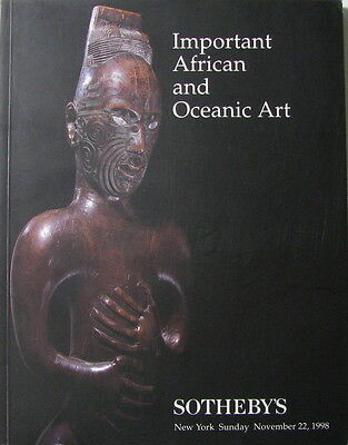SOTHEBY'S Important African and Oceanic Art – Superb Kongo figure, nkisi