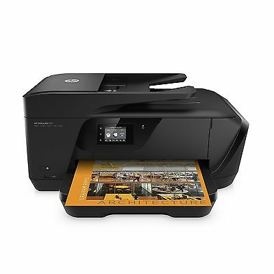 HP OfficeJet Wireless Extra Wide Format All-in-One Photo Printer Copier Scan Fax