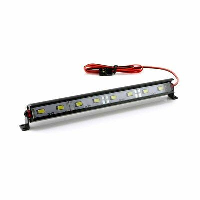 "HobbyStar ""Daylight"" Aluminum 8 LED Light Bar, RC Car Crawler Scale Lightbar USA"
