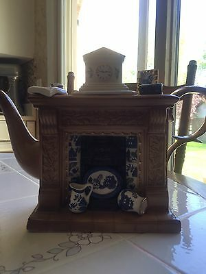 Cardew Blue Fireplace Teapot