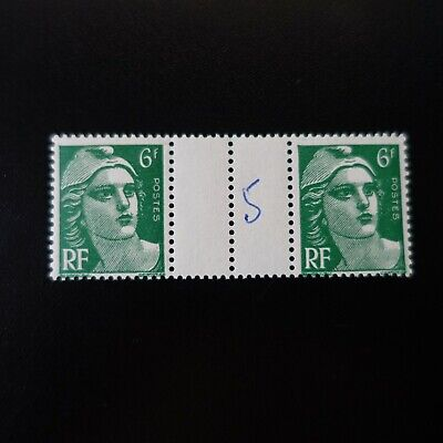 Marianne Gandon N°884 Paire Avec Intervalle Neuf ** Luxe Mnh Cote 16€