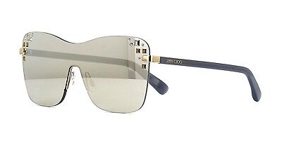 5f94e194b7d JIMMY CHOO ANDIE S black rose gold grey mirror (J7Q M3) Sunglasses ...