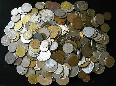 Lot of 3 3/4 Pounds World Foreign Coins