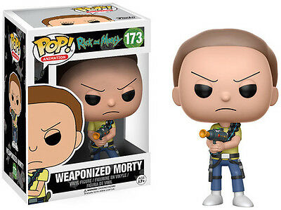 Funko Pop! Animation: Rick & Morty - Weaponized Mo (2017, Toy NEU)
