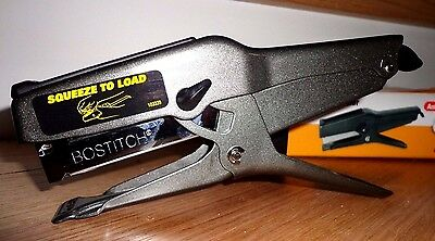 STANLEY BOSTITCH STAPLER B8 AntiJam Stapling Plier 45 sheet 1/4 3/8 Heavy Duty