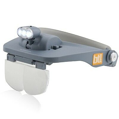 Bio-therapeutic bt-GEAR gift wrap bt-vision portable Magnifying Glasses lamp